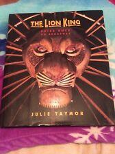 A Disney Theatrical Souvenir Book: The lion King : Pride rock on Broadway by.