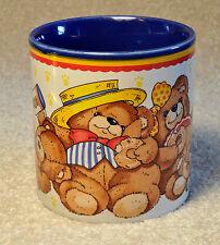 Vintage 1987 Teddy Bears Coffee Cup Mug by Marvelous Mugs Potpourri Press EUC
