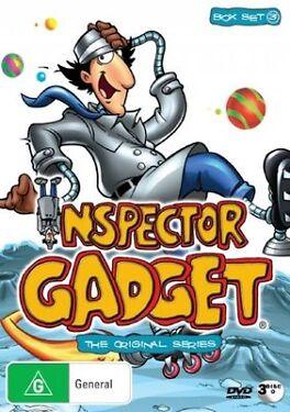 Inspector Gadget The Original Series  Box Set 3 DVD 2007 3Disc Set