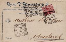 # ORTONA A MARE: testatina- ROCCO D'ALESSANDRO - salumi-coloniali-petrolio 1909