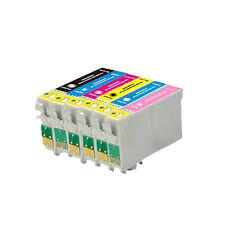 6 Ink Cartridge For Epson Printer Photo R200 R220 R300 R300M R320 R340 RX500