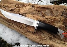 Buck Knives Model 119 Cusomtized, Crazy Sharp and Ready for Action.Check it out!