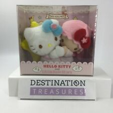 Hello Kitty X Little Twin Stars LALA 40th Anniversary Boxed Plush Set
