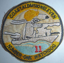 SNOOPY - PATCH - NUMBER ONE WATCH DOG - US COSFLOT 11 - Vietnam War - 1521