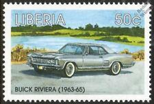 1963-1965 BUICK RIVIERA Mint Automobile Car Stamp (1998 Liberia)