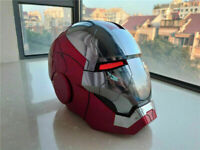 Stock Wearable 1:1 AutoKing Iron Man MK5 Deformed Voice-controlled Helmet Gift