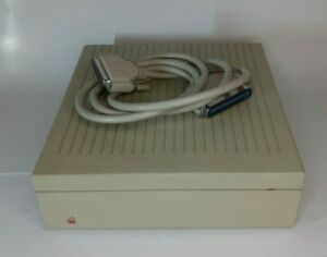 Apple External Hard Disk Drive M2603 20SC SCSI w/ Cables (Working & Tested )
