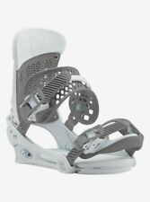 Burton Malavita Reflex Bindings | Large | White Rabbit | Supergrip Capstrap™