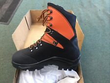 Treemme 1207 Orange Slide Stop Chainsaw Boots Size (12-47)