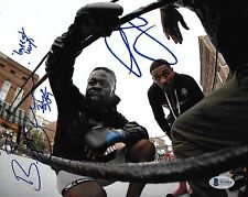 Baby Kimbo Slice & AJ McKee Signed 8x10 Photo BAS Beckett COA Bellator MMA Auto