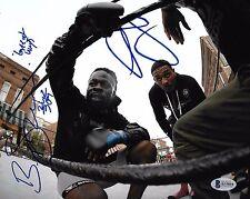Baby Kimbo Slice & AJ McKee Signed 8x10 Photo BAS Beckett COA Bellator MMA Auto