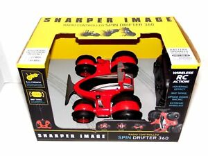 Sharper Image Remote Control Spin Drifter 360 Vehicle - Red