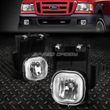 FOR 06-07 FORD RANGER CLEAR LENS FRONT BUMPER DRIVING FOG LIGHT REPLACEMENT LAMP