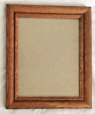 """Brown 10.5X12.5"""" Wood Picture Frame Holds 8X10"""" Photo"""