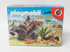 Playmobil Wild Life - 6939 Safari Wilderer mit Quad OVP NEU