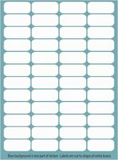 48 Blank Plug Labels Stickers Help Identify Plug Home Office Workshop D162