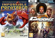 IMPOSSIBLE CREATURES & crookz le gros hold-up Limited Edition New & Sealed