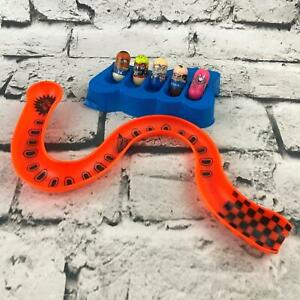 Crazee Jumpin' Bean Racing Set 5 Beans Slotted Tray And Curvy Slanted Race Track