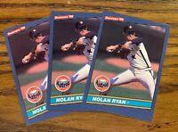 1986 Donruss #258 Nolan Ryan - Astros HOF (3)