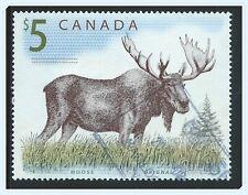 Canada #1693(2) 2003 $5.00 Canadian Wildlife - MOOSE Used