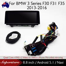 """8.8"""" Monitor Multimedia Navigation Android 10.0 GPS For BMW 3 series F30 F31 F35"""