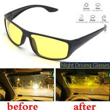 Men Woman Night Vision Driving Glasses Anti Glare UV Protection Sunglasses