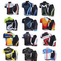 Herren Fahrradbekleidung Atmungsaktiv Radsport Fahrradtrikot Kurzarm Jersey
