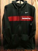 New Nike Mens OU Gray Alabama Crimson Tide Standard Fit Hoodie Size XL