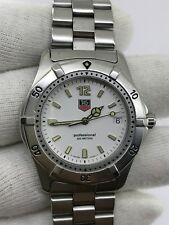 TAG HEUER WK1111 PROFESSIONAL 200 METERS DIVER QUARTZ MENS 37.5mm SWISS MADE