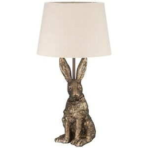 Hare Table Lamp - Sculpture Design- Bronze -GORGEOUS HOME DECOR