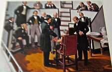 Medical Art Anesthesia Conquerors of Pain   Vintage Offset Litho