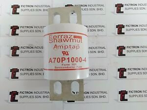 NEW 1PCS A70P1000-4 FERRAZ SHAWMUT SEMICONDUCTOR FUSE FORM 101