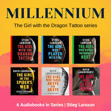 Millennium Series 6 Audiobooks Unabridged (MP3) By Stieg Larsson