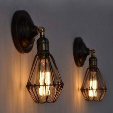 Vintage Sconce E27 Industrial Edison Wall Loft Retro Lamp Light Holder Lampshade