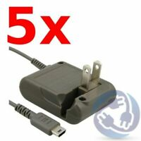 LOT 5X Wall Home Travel Charger AC Power Adapter Cord for Nintendo DS Lite NDSL