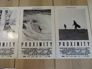 Proximity Movie Surfing Posters Taylor Steele THREE Posters! Summer/Fall/Winter