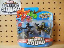 Marvel Super Hero Squad SEALED Wave 10 SPIDER-MAN Black & RONIN Hawkeye Endgame