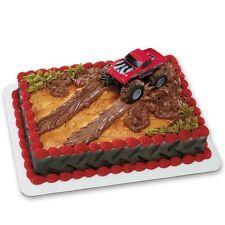 Red Monster Truck Cake Topper