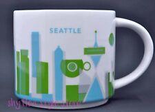 Starbucks Seattle You Are Here Coffee Mug Pre Owned No Box Washington Travel