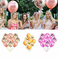 """Party Decor 12"""" Colorful Confetti Balloons For Birthday Wedding Baby Shower Sl"""