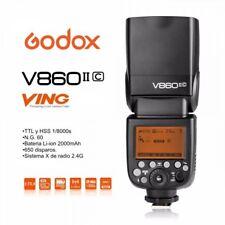 Flash Godox Ving V860II TTL HSS para Canon