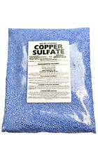 Copper Sulfate Crystals 10lb Bag (SMALL CRYSTAL)