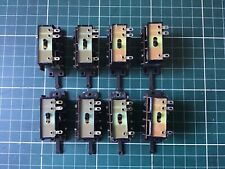 peco points with baseplates and switches