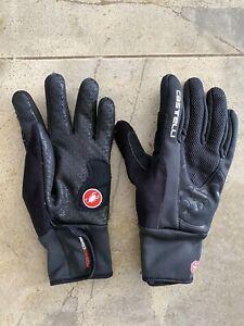 Castelli Estremo Winter Full Finger Gloves Large black thermal warm
