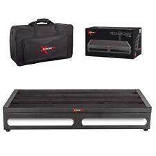Xtreme Pro Large Guitar Pedal Board Inc Bag 56cm X28cm