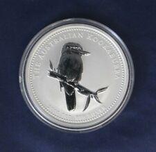 2005 Australia 1oz Silver $1 Kookaburra coin in Capsule    (AB6)