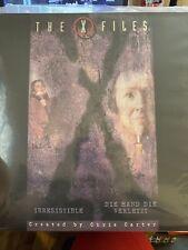 The X Files Irresistible / Die Hand Die Verletzt Laserdisc Laser Videodisc