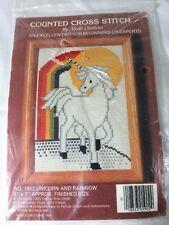 Nicole Creations Unicorn Rainbow Counted Cross Stitch Kit 1902 Brand New Gay