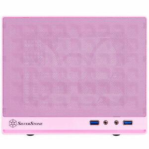 Silverstone SST-SG13P-USA (Pink) Mini-DTX / Mini-ITX Sugo SFF Case