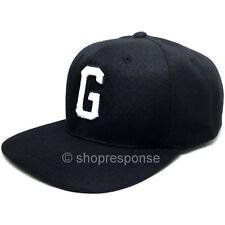 GReddy G Snap-Back Cap Hat Black w/White 3D Logo Adjustable Genuine